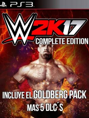 WWE 2K17 Complete Edition PS3
