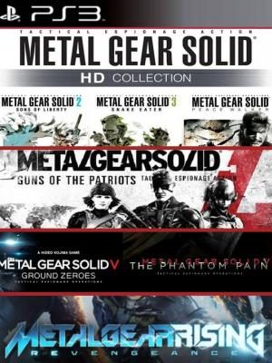 7 juegos en 1 Metal Gear Solid Collection PS3