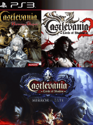 3 JUEGOS EN 1 Castlevania Harmony of Despair + Castlevania: Lords of Shadow - Mirror of Fate HD + Castlevania: Lords of Shadow 2