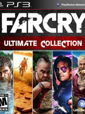 5 JUEGOS EN 1 FAR CRY COLLECTION  EN ESPAÑOL PS3