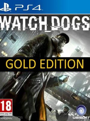 Watch Dogs Gold Edition PS4