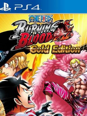 ONE PIECE BURNING BLOOD  Gold Edition PS4 PRIMARIA