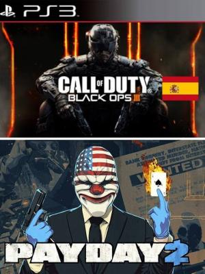 Call of Duty Black Ops III Español  Mas PAYDAY 2 PS3