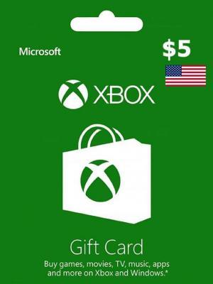 Xbox CARD  5 USD