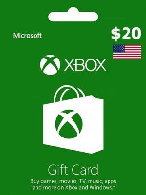 XBOX CARD 20 USD