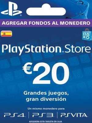 PSN 20 EUROS (ESPAÑA)