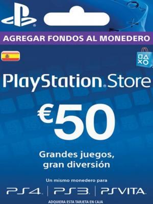 Psn 50 Euros (ESPAÑA)