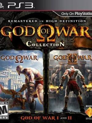 GOD OF WAR COLLECTION PS3 FULL ESPAÑOL