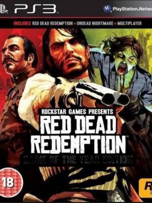 2 Juegos en 1 Red Dead Redemption + Colección Pesadilla de los No Muertos PS3