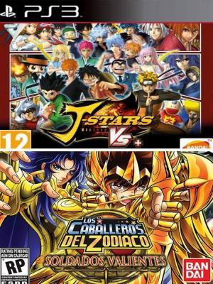 2 juegos en 1 J-stars Victory Vs+ mas Saint Seiya Brave Soldiers