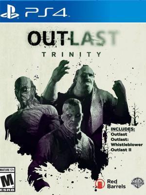 3 JUEGOS EN 1 OUTLAST + Outlast: Whistleblower + OUTLAST 2 PS4