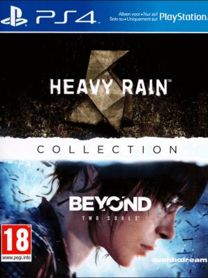 2 JUEGOS EN 1 Heavy Rain + Beyond: Dos almas PS4