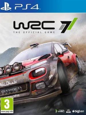 WRC 7 FIA World Rally Championship PS4 PRIMARIA