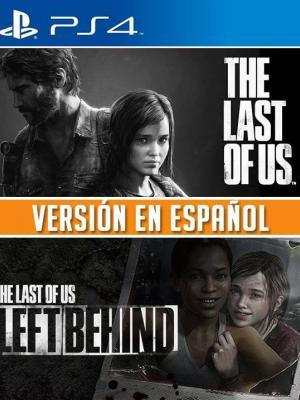 2 JUEGOS EN 1 THE LAST OF US + THE LAST OF US LEFT BEHIND PS4 PRIMARIA
