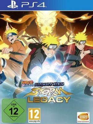 4 juegos en 1 NARUTO SHIPPUDEN: Ultimate Ninja STORM Legacy  Ps4