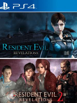 2 JUEGOS EN 1 RESIDENT EVIL REVELATIONS 1 MAS RESIDENT EVIL REVELATIONS 2 PS4 PRIMARIA