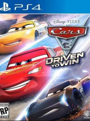 Cars 3: Driven to Win PS4 Primaria