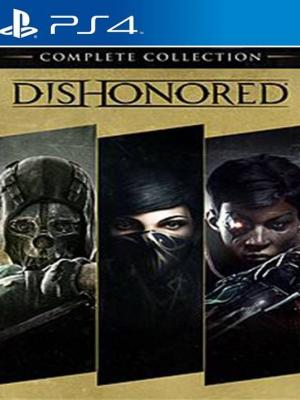 3 JUEGOS EN 1 Dishonored: The Complete Collection PS4