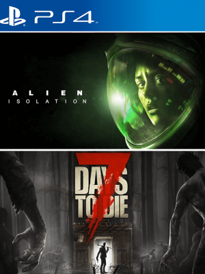 2 JUEGOS EN 1 ALIEN ISOLATION + 7 DAYS TO DIE 4 PS4 PRIMARIA