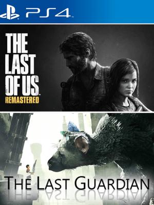 2 JUEGOS EN 1 THE LAST OF US  + THE LAST GUARDIAN PS4