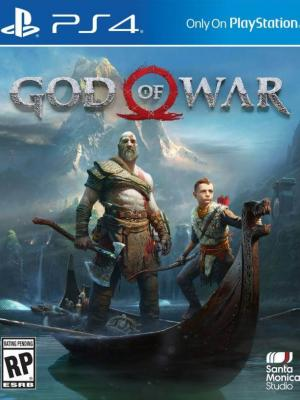 God of War PRE ORDEN PS4 PRIMARIA