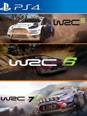 3 JUEGOS EN 1 WRC 5 -  6  - 7 PS4 PRIMARIA