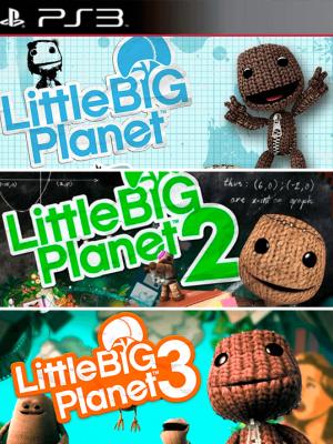 3 juegos en 1 LittleBigPlanet 1 - 2- 3
