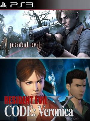 Resident Evil 4 +  Resident Evil Code Veronica X01 en Español