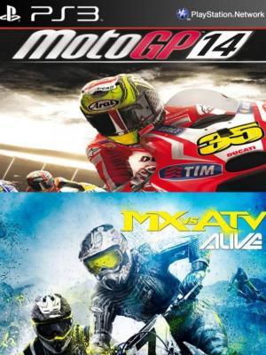 2 juegos en 1 Motogp14 + Mx Vs Atv: Alive Ps3