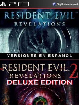 2 juegos en 1 Resident Evil Revelations Mas Resident Evil Revelations 2 Deluxe Edition Ps3