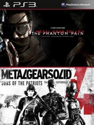 Metal Gear Solid V The Phantom Pain Mas Metal Gear Solid 4 Guns of the Patriots PS3