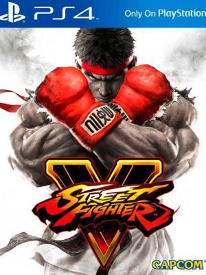 STREET FIGHTER V PS4 PRIMARIA