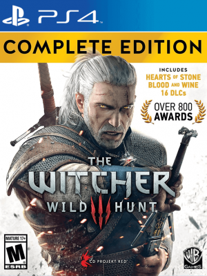 The Witcher 3: Wild Hunt – Complete Edition PS4  PRIMARIA