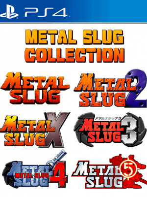 6 JUEGOS EN 1 METAL SLUG COLLECTION PS4 PRIMARIA