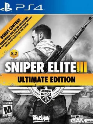 Sniper Elite 3 ULTIMATE EDITION PS4