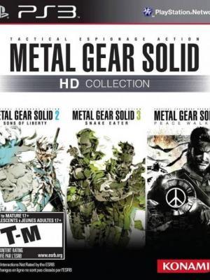 3 JUEGOS EN 1 METAL GEAR SOLID HD COLLECTION PS3