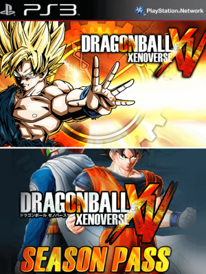 DRAGON BALL XENOVERSE mas pase de temporada ps3