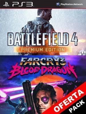 2 juegos en 1 Battlefield 4 Edición Premium Mas Far Cry 3: Blood Dragon