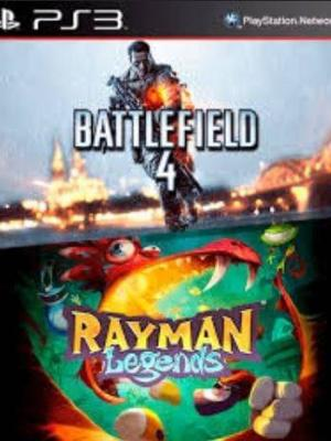 2 JUEGOS EN 1 BATTLEFIELD 4 mas RAYMAN LEGENDS