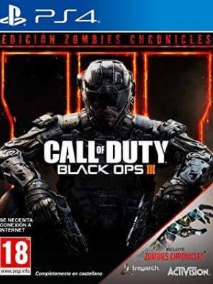 Español Call of Duty Black Ops III MAS DLC Zombies Chronicles PS4 Primaria
