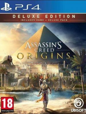 Assassin's Creed Origins Deluxe Edition PS4 PRIMARIA