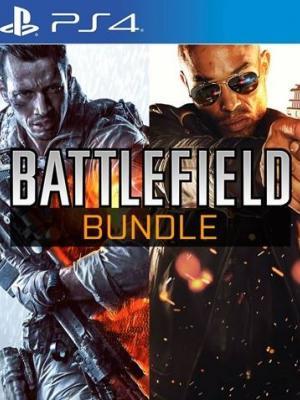 2 EN 1 Battlefield Hardline MAS Battlefield 4 EN ESPAÑOL PS4  PRIMARIA