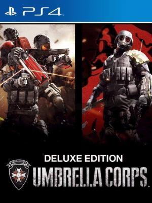 UMBRELLA CORPS EDICION DELUXE PS4 PRIMARIA