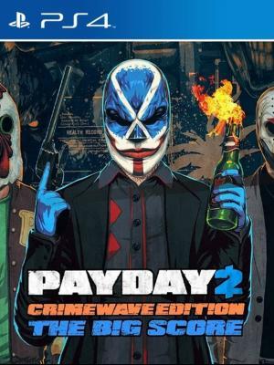 EL GRAN GOLPE de PAYDAY 2 - CRIMEWAVE EDITION PS4 PRIMARIA