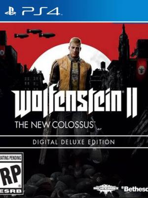 Wolfenstein II The New Colossus Digital Deluxe Edition PS4 PRIMARIA