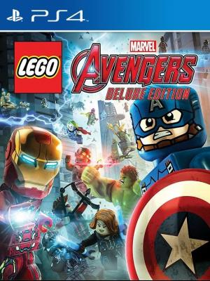 LEGO Marvel's Avengers Deluxe Edition PS4 PRIMARIA