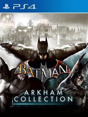 3 JUEGOS EN 1 Batman: Arkham Collection PS4 PRIMARIA